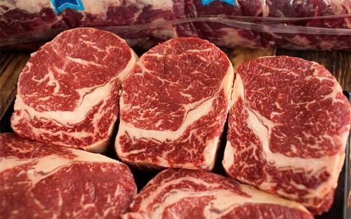 thịt thăn lưng bò