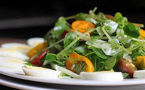 làm salad giảm cân