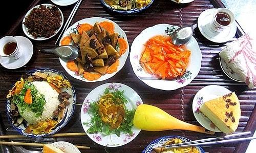 thực đơn ăn chay trường giảm cân