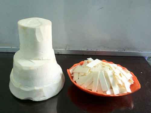 củ hũ dừa tươi