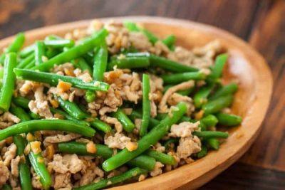 món ăn từ đậu đũa