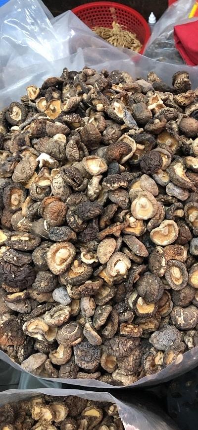 nấm hương mũ khô loại 4