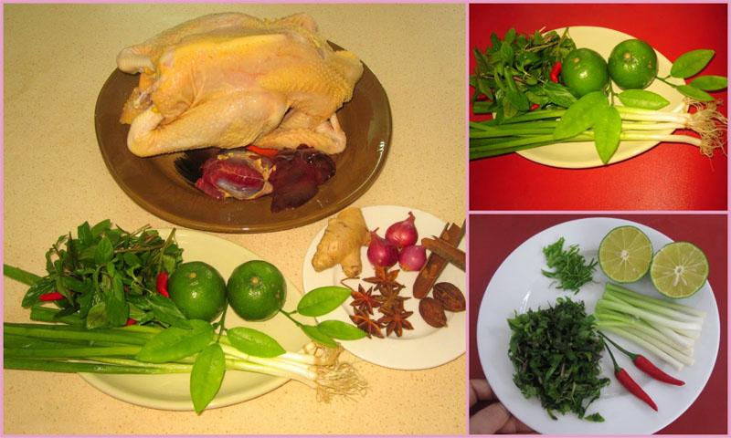Cách nấu phở gà