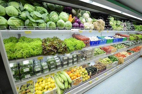 thực phẩm cho siêu thị