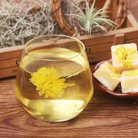 cách nấu trà hoa cúc đường phèn