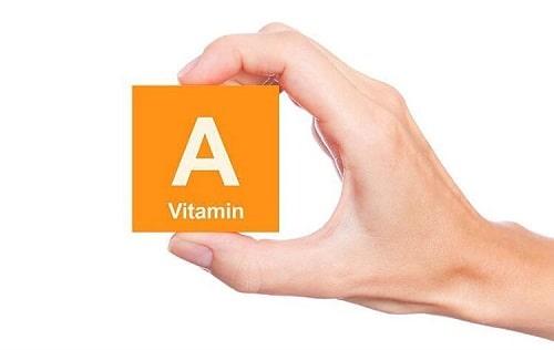 trieu chung thieu vitamin A