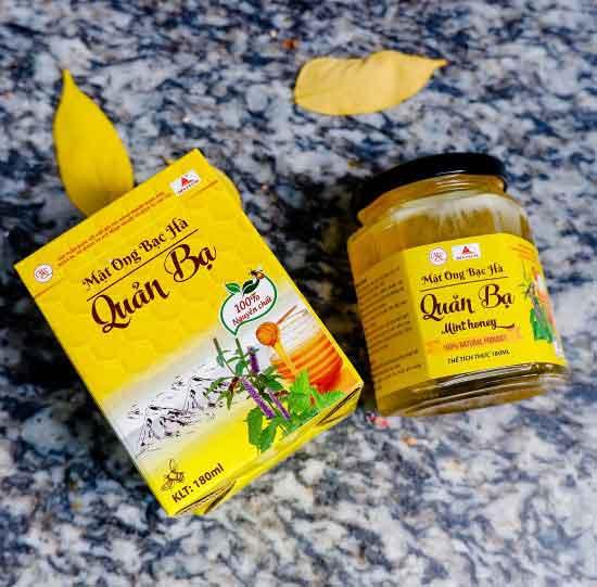 giá mật ong bạc hà
