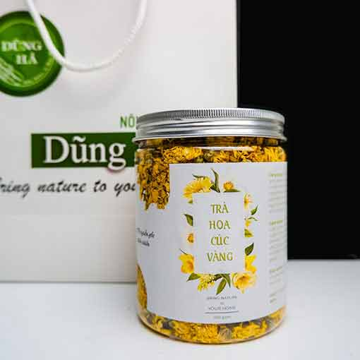 trà hoa cúc khô
