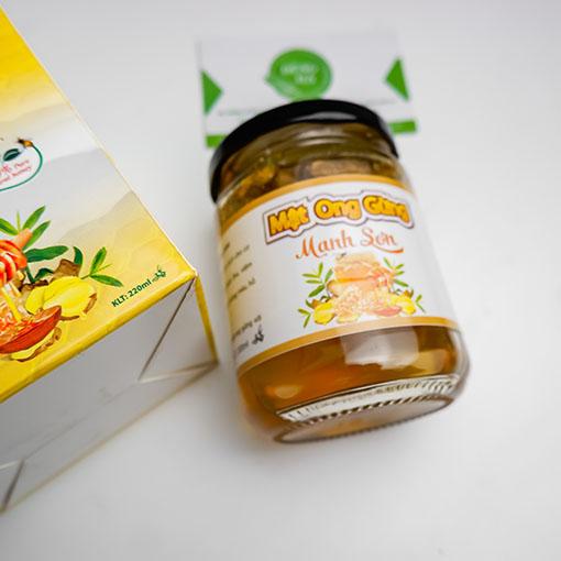 mật ong gừng