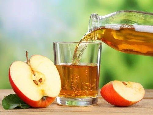 Cách chữa ngộ độc thực phẩm tại nhà: Dùng giấm táo
