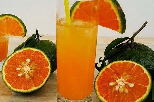 Nước cam ép giàu dinh dưỡng