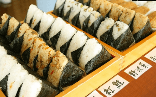 Gạo Nhật làm cơm nắm