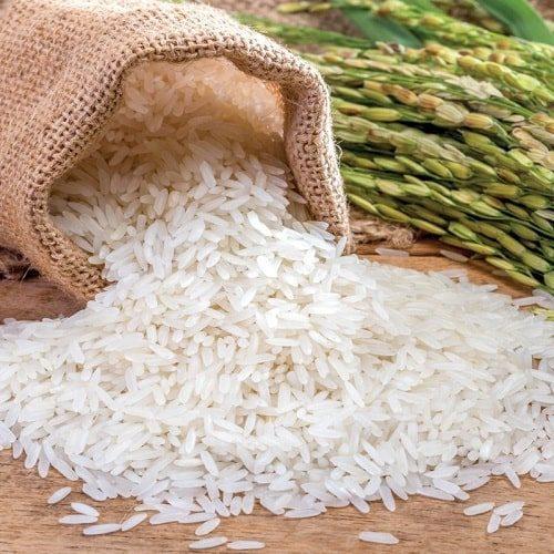 Hạt gạo Séng Cù chắc nịch, thuôn dài