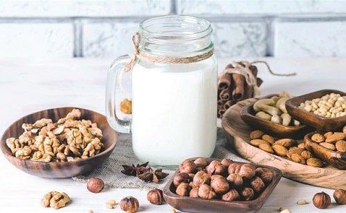 sữa thực vật trong chế độ ăn chay trường