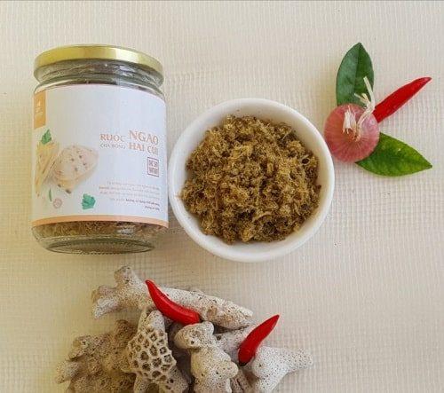 Ruốc ngao là sản phẩm nông sản Việt đạt chuẩn chất lượng