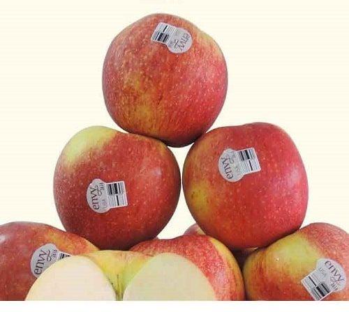 Hàm lượng dinh dưỡng trong táo envy rất cao