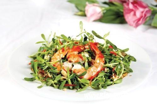 món ăn với rau đắng