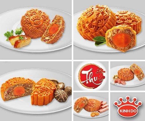 Các loại bánh trung thu Kinh Đô phổ biến tại Nông Sản Dũng Hà