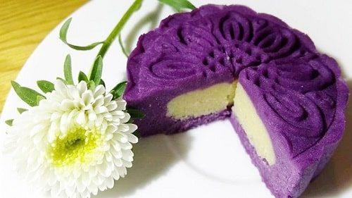 Bánh trung thu khoai lang cho người bệnh tiểu đường