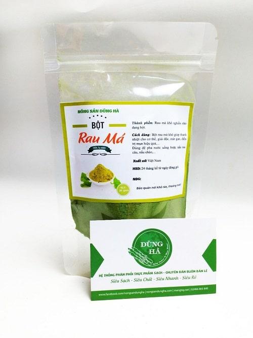 Mua bột rau má nguyên chất ở đâu tại Hà Nội và HCM?