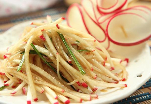 cách chế biến món ăn với củ cải đỏ